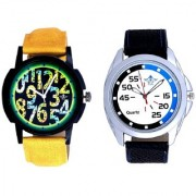 Exclusive Blue-Black Round And Awesome Exclusive Digits Men's Combo Casual Watch By Google Hub