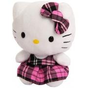TY Hello Kitty Peluche Cat con Kilt Pink