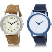 The Shopoholic White Combo New Stylist Latest White Dial Analog Watch For Boys Mens Watches
