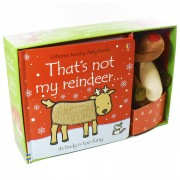 Usborne That's not my Reindeer and Toy - Ages 0-5 - Board Books - Fiona Watt