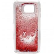 Husa de protectie Tellur Cover pentru Samsung S6 Glitter Pink Dark