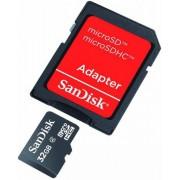 Card de memorie SanDisk micro SDHC 32GB (Class 4) + Adaptor SD