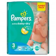 Scutece Pampers 3 Active Baby 4-9kg (82)buc