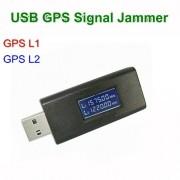 Bruiaj GPS cu Display conectare USB laptop, powerbank, 2 frecvente