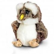 Bufnita de plus Brown Owl Keel Toys, 18 cm, 3 ani+