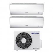 Samsung Climatizzatore Samsung Dual Split Inverter 12000+12000 Btu Maldives Aj050ncj2eg R32 A+++