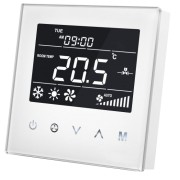 MCO Home - Fan Coil Thermostat (4 тръби) - бял