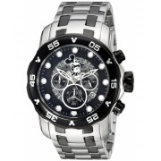 Invicta Watches Invicta Men's 'Disney Limited Edition' Quartz Stainless Steel Casual Watch ColorSilver-Toned (Model 23767) BlackSilver