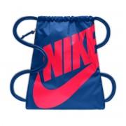 Nike Saco de ginásio com cordão Heritage Gym SackAzul/Vermelho- TAMANHO ÚNICO