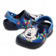 Papuci Crocs Mickey copii - culoarea albastru