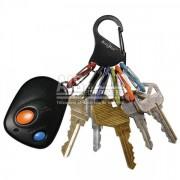 Mousqueton avec 6 porte-clés