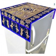 Nisol Classic Dancers Ombre Royal Blue Refrigerator / Fridge Top Cover (Universal Size)