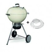 Weber Holzkohlegrill Weber Master-Touch GBS Charcoal Grill, 57cm, Ivory