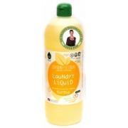 Detergent ecologic lichid pentru rufe albe si colorate portocale Biolu 1L