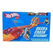 Hot Wheels Dash and Crash Retro Speedway Trackset