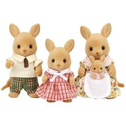 "Epoch Sylvanian Families Sylvanian Family Doll ""Ps 03 Family Of Kangaroo"""