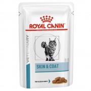 Royal Canin Adult Skin & Coat Veterinary Diet para gatos - 12 x 100 g