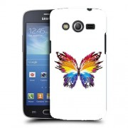 Husa Samsung Galaxy Core 4G LTE G386F Silicon Gel Tpu Model Abstract Butterfly