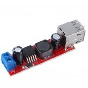 ER DC 6V-40V A 5V 3una Doble Carga USB DC-DC STEP-DOWN CONVERTER Module