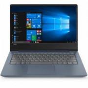 Лаптоп Lenovo IdeaPad UltraSlim 330s 14.0 инча, IPS FullHD Antiglare i3-8130U up to 3.4GHz, 8GB DDR4, 256GB m.2 SSD, Backlit KBD, 81F401C0BM