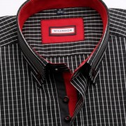 Bărbați cămașă slim fit Willsoor Londra 2259