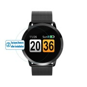 Newwear HD Ultra Clear Glass Protective Film Screen Protector for Q8 Smart Watch