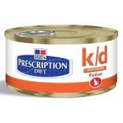 Hill'S Feline K/d Gr.156 (Alimento Umido Gatti Con Patologie Renali)