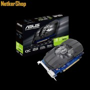 ASUS Nvidia Geforce PH-GT1030-O2G 2GB DDR5 PCI Express Videokártya (3 év garancia)