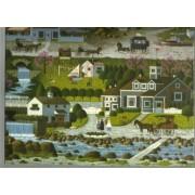 CHARLES WYSOCKI PUZZLE 1000 PIECE MIB SEALED #4679-25 WITCHS BAY WITCH CAPE COD