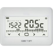 Cronotermostato BPT touch screen wifi da parete bianco 845AA-0060