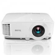 Видео монитор BenQ MX611 DLP, XGA (1024x768), 20 000:1, 4000 ANSI Lumens, VGA, HDMI, RCA, Speaker, 3D Ready, Бял, 9H.J3D77.13E