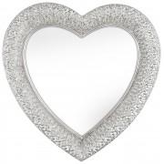 Innova Editions Spegel Heart Marrakesh Silver 54x55 cm
