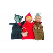 Au Sycomore Mast301 Puppet Set Little Red Riding Hood