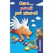 Joc educational Oare...Pot Porcii Zbura? - editie de buzunar - Kosmos