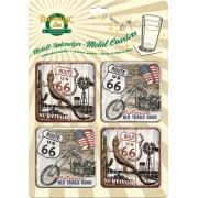 Suporturi pahare metalice - Route 66 Survivor