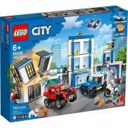 Lego set de construcción lego city estación de policía 60246