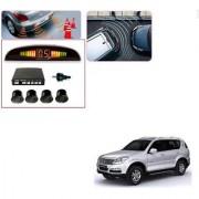 Auto Addict Car Black Reverse Parking Sensor With LED Display For Mahindra Rexton