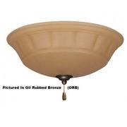 Emerson LK140AW Lámpara de techo para ventiladores de techo, candelabro, luz de techo blanca de verano con cadena de tracción