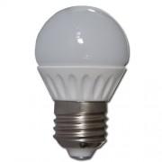 Max Žárovka LED 3W E27 Keramické tělo - 4000-4500K Pure White - čistá bílá