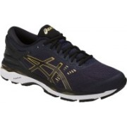Asics Gel-Kayano 24 Running Shoes For Men(Navy, Black, Gold)