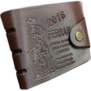 New Vintage Style Men Leatherlite Bifold Wallet (D01)
