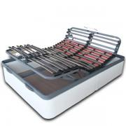 Compra Ideal Somier articulado eléctrico y canapé 90x190 con mando por móvil y envío 24-48h.