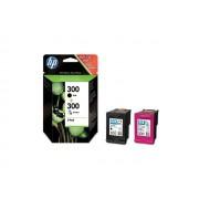 HP 1x 300bk + 1x 300clr inktpatroon origineel (2 st)