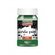 Pentart Matt zöld színű akril bázisú hobbi festék 100 ml