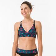 Olaian Haut de maillot de bain brassière de surf femme réglage dos BEA SUPAI ZENITH - Olaian