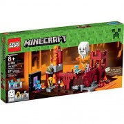 Synthetic LEGO Minecraft The Nether Fortress