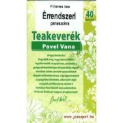 Pavel Vana - Érrendszer Herbal Tea, 40 filter