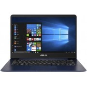 "Ultrabook™ ASUS ZenBook UX430UN (Procesor Intel® Core™ i5-8250U (6M Cache, up to 3.40 GHz), 14"" FHD, 8GB, 256GB SSD, nVidia GeForce MX150 @2GB, FPR, Win10 Home, Albastru)"