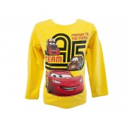 Disney Cars Boys Long Sleeve Top / T-Shirt Yellow 8 Years / 128 cm