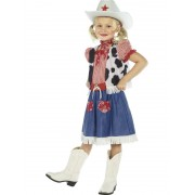 Childs Cowgirl Sweetie Girls Costume - LARGE